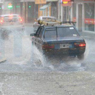 alerta por tormentas fuertes, lluvia y granizo en entre rios