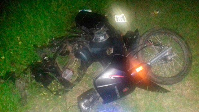 Ruta 20: Motociclista perdió la vida tras ser chocado por un automóvil
