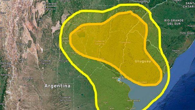Meteorólogo advirtió sobre riesgo por probables tornados en Entre Ríos