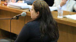 Su versión. Clivio negó que haya estado en el crimen del marido y sembró dudas sobre el Concejo. Foto: Diego Arias.