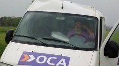 Vuelco en medio de la lluvia. El conductor que tuvo algunos golpes, fue derivado por prevención al hospital.