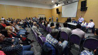 Propuesta. El mandatario insistió en la idea de la provincialización de la represa de Salto Grande.