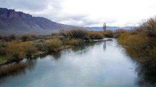El río Chubut