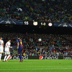 Messi rompió una mala racha de ocho meses