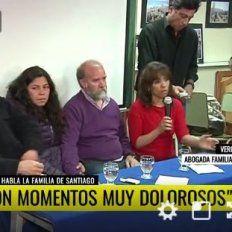 Habló la familia de Santiago Maldonado y pidió respeto