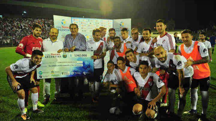 River Plate es el equipo que más victorias consecutiva tiene en la Copa Argentina