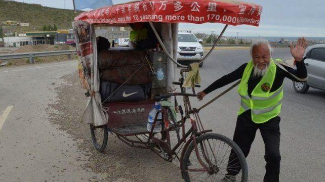 Una de las últimas imágenes deChen Guan Ming.