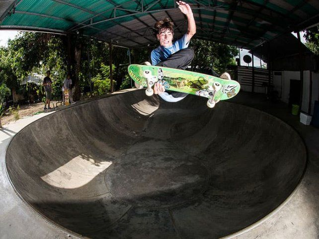 Imaginá unas minivacaciones para andar en skate por Amércia Central
