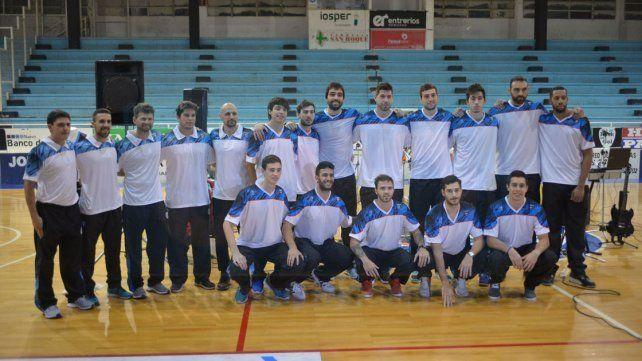 Los jugadores y cuerpo técnico del AEC que tratarán de ir por el ascenso en la segunda categoría.
