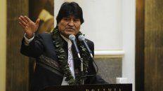 El presidente de Bolivia publicó su mensaje en redes sociales.