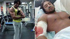 conmocion por la muerte de un fisicoculturista colombiano que se entrenaba en rusia