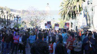 En Paraná, ciudadanos y militantes de organizaciones sociales reclaman Justicia por Santiago Maldonado