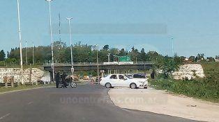 Hay un detenido por el asesinato de un hombre en la zona del Acceso Norte de Paraná