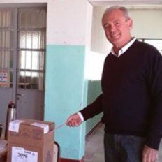 Benedetti votó en Larroque y esperará los resultados en Gualeguaychú