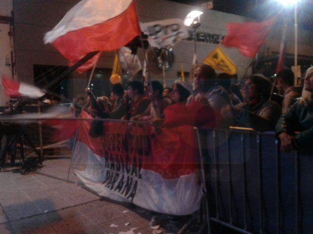 Festejos en la UCR Paraná