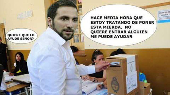 Los memes del fútbol en las elecciones