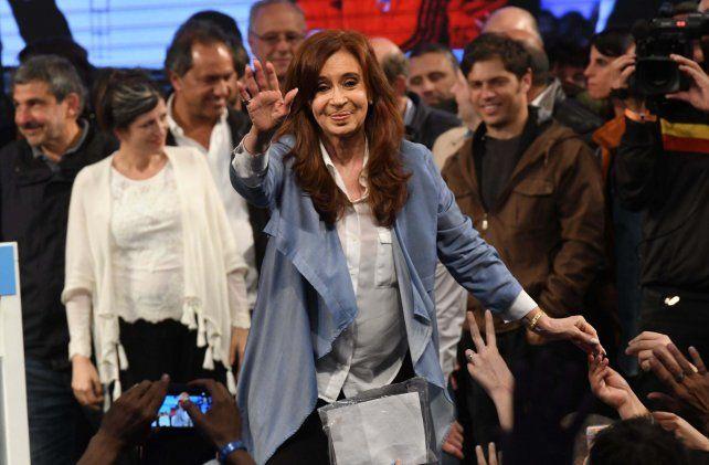 La senadora por Unidad Ciudadana Cristina Fernández de Kirchner. Foto Télam.