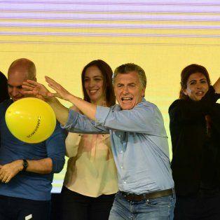 El 85 de Macri: Amplia ventaja en todo el país y oposición dispersa