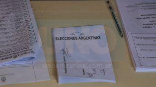 Revisá los resultados de la mesa en donde votaste