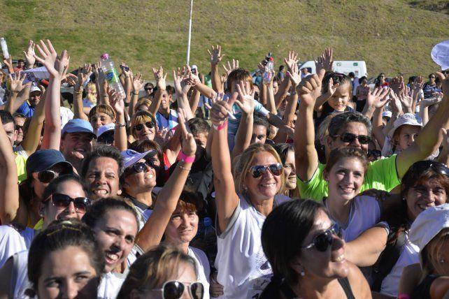 Iniciativa. La actividad convoca a una multitud cada año y es un éxito.