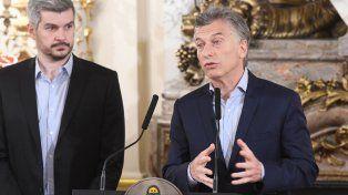 Balance. Macri y Peña analizaron la agenda gubernamental luego del triunfo en las legislativas.
