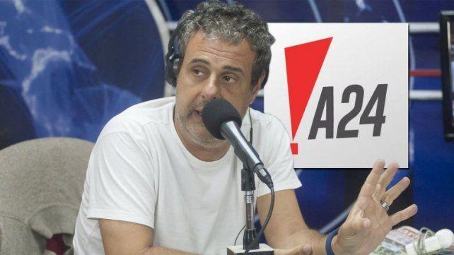 Rescindieron el contrato de Ari Paluch en A24