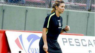 Gisela Trucco es la primera árbitro asistente designada en la Superliga