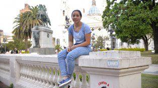Florencia Arce volverá a jugar un mundial esta vez de futsal. Foto UNO Mateo Oviedo.