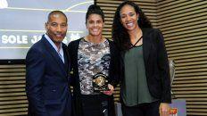 sole jaimes fue elegida como la mejor delantera del futbol paulista