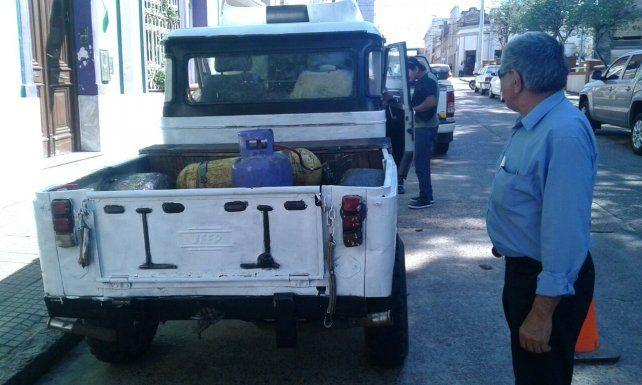 El Jeep más peligroso de la provincia.