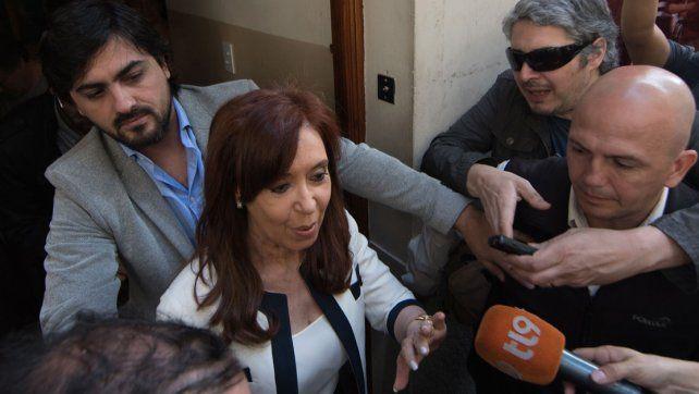 Cristina habló de la detención de Boudou