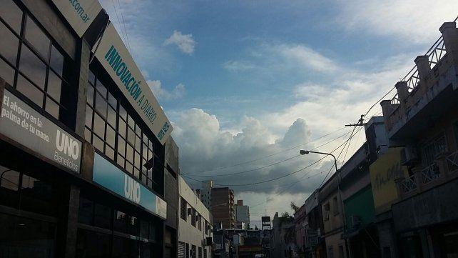 Pronostican lluvias para el inicio de la semana