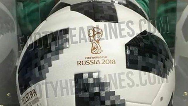 Se filtró la pelota que se utilizará en el Mundial de Rusia 2018