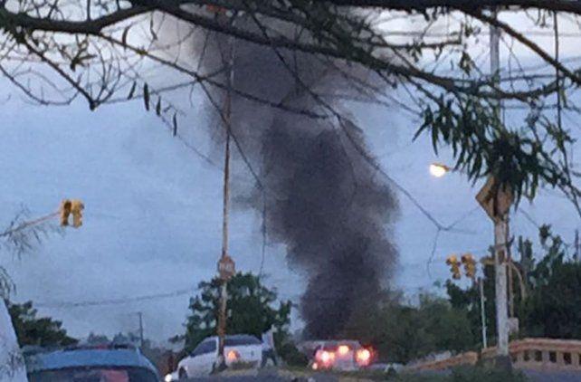 Vecinos de la Villa 351 prendieron fuego, fueron los bomberos pero los echaron