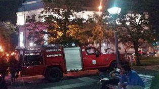 Una falsa alarma de bomba alteró la tarde en Concordia