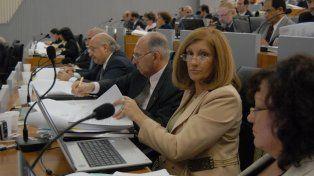 En 2008. La nueva ministra tuvo un destacado rol en la última reforma de la Constitución provincial.