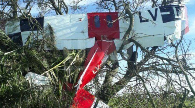 Tragedia en Santa Fe: murió un piloto al caerse un avión esta madrugada