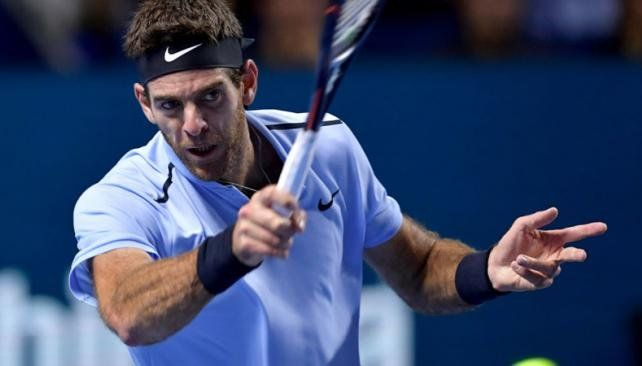 Del Potro no pudo con Federer en Basilea