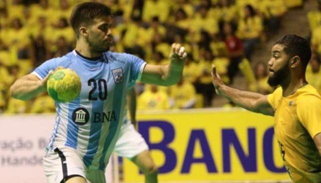 Argentina no pudo con Brasil en la final del Cuatro Naciones