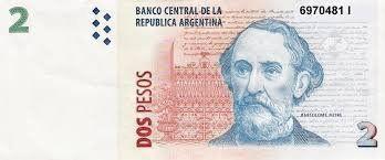 <b>Los últimos meses</b>. Los billetes habrá que canjearlos por las monedas de dos pesos.