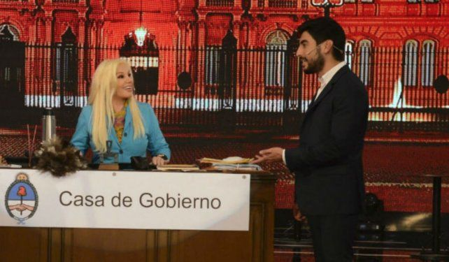 Susana cenó a solas con Facundo Moyano para enojar a Nicole Neumann