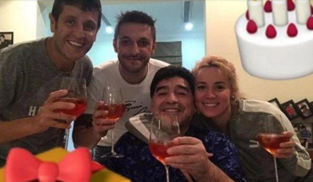 Salud y gracias por no olvidarme, el mensaje de Diego Maradona