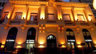 El histórico edificio de La Capital en Rosario. Foto UNO.