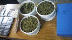 pretendia mandar dos kilos de marihuana por encomienda y fue descubierto