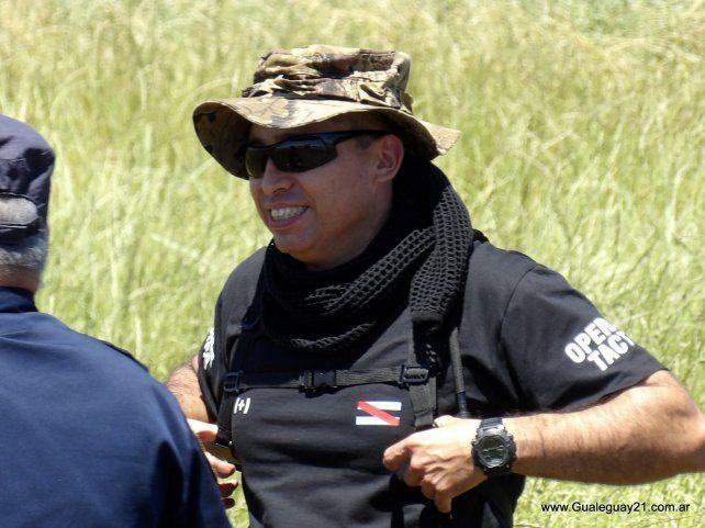Las fotos del operativo policial que busca al empresario Benvenuto