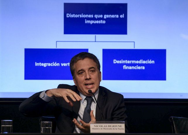 Metas. El gobierno de Cambiemos presentó las modificaciones para los próximos cincos años.