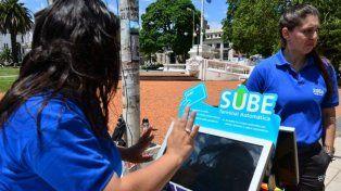 En Paraná la SUBE se puede tramitar en la peatonal San Martín hasta el viernes