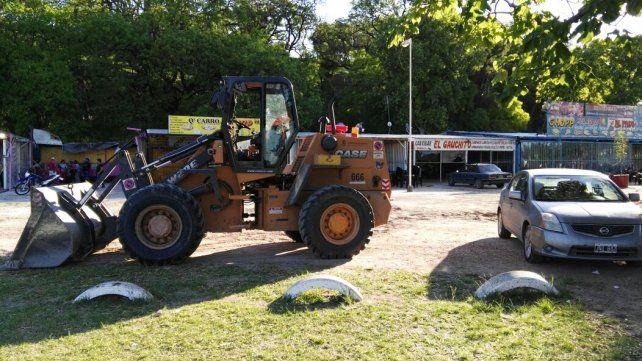 Levantan los carribares de la costanera para recuperar el espacio público