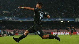 Agüero es el máximo goleador en la historia del Manchester City