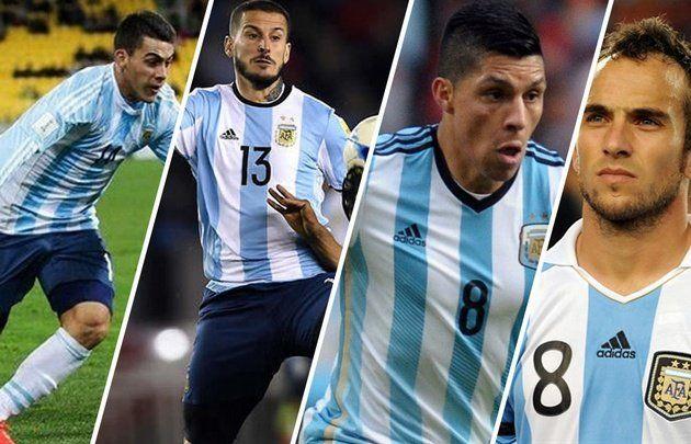 Los cuatro convocados del fútbol argentino
